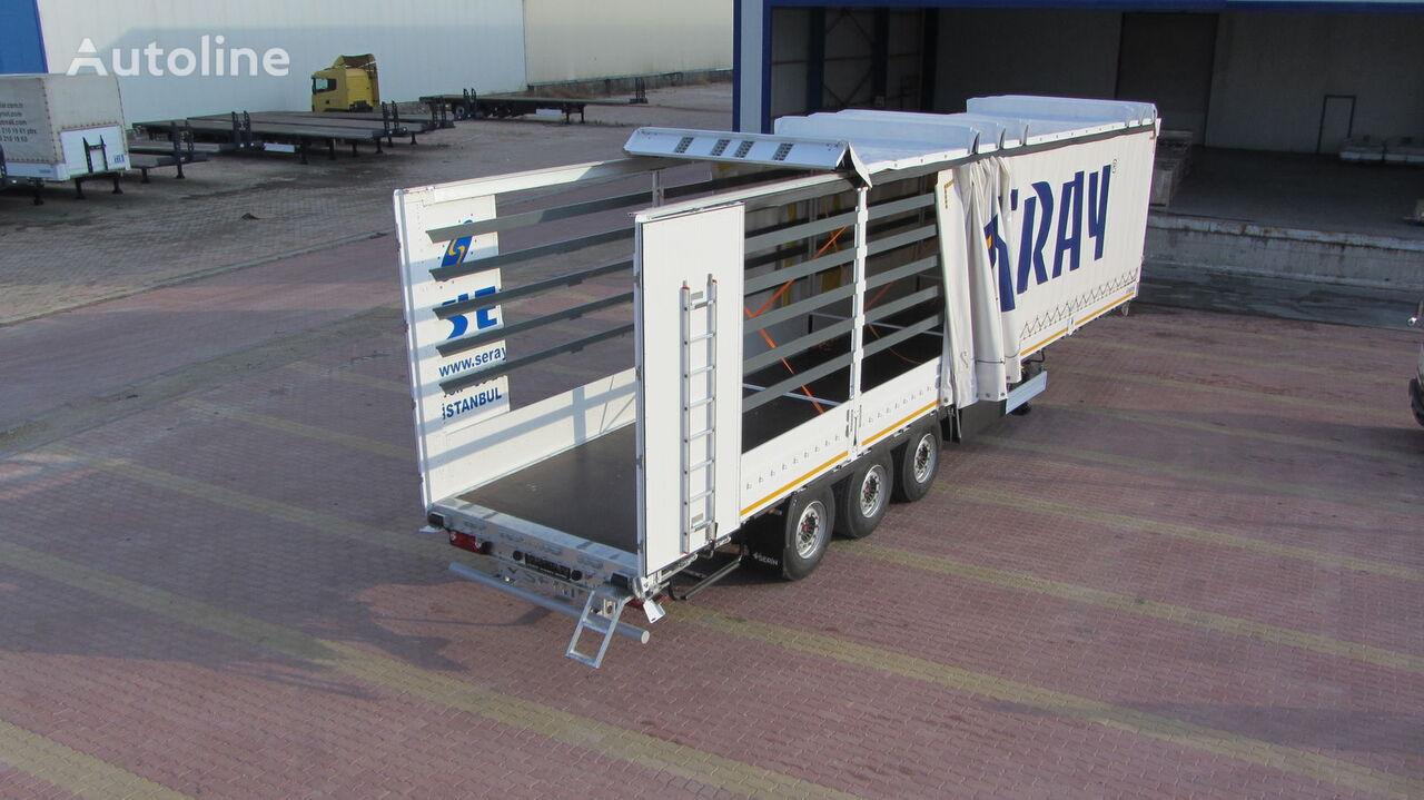 new SERIN 2021 curtain side semi-trailer