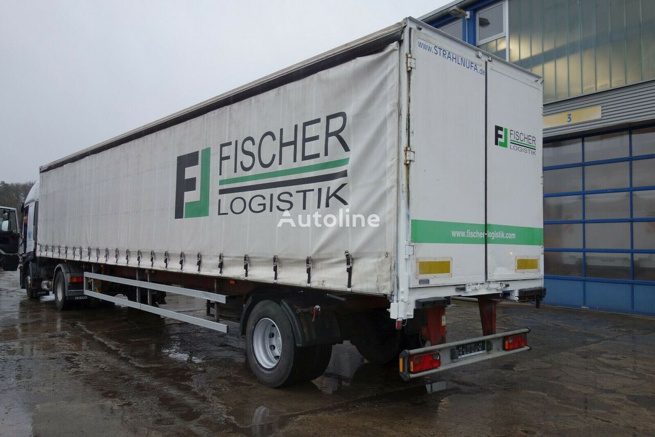 SOMMER SP100 HL-CU curtain side semi-trailer