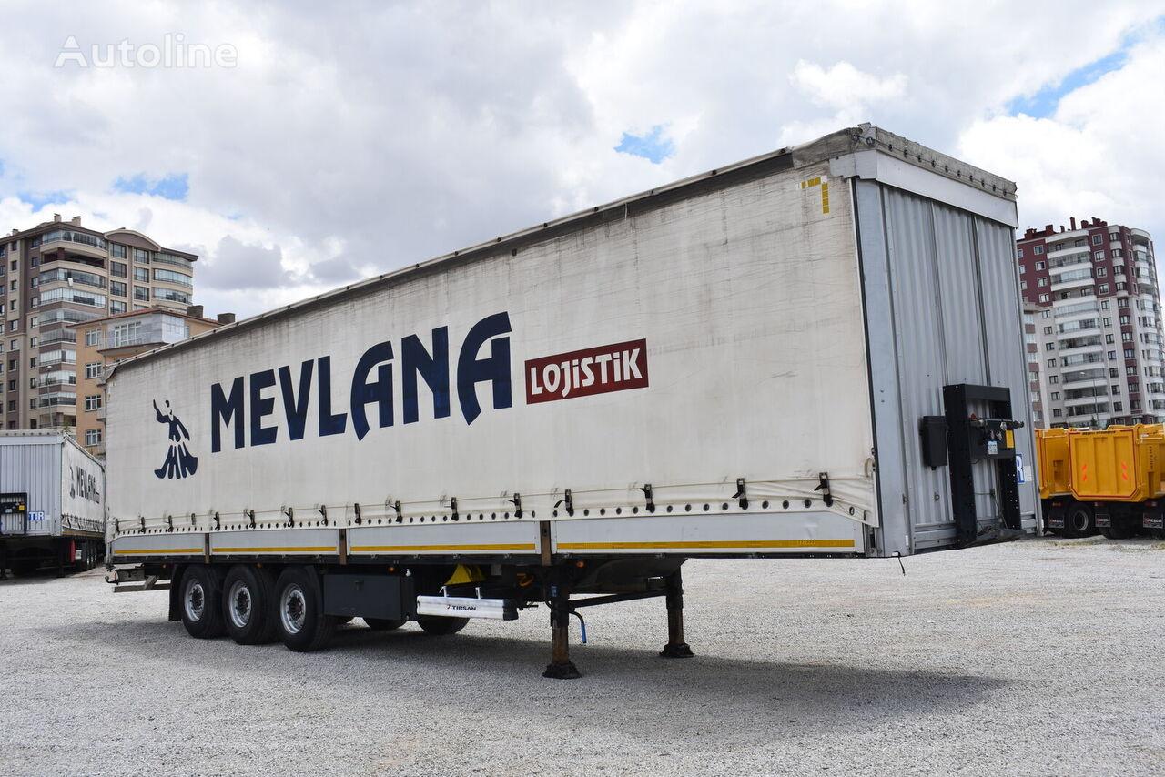 TIRSAN NEŞELİ curtain side semi-trailer