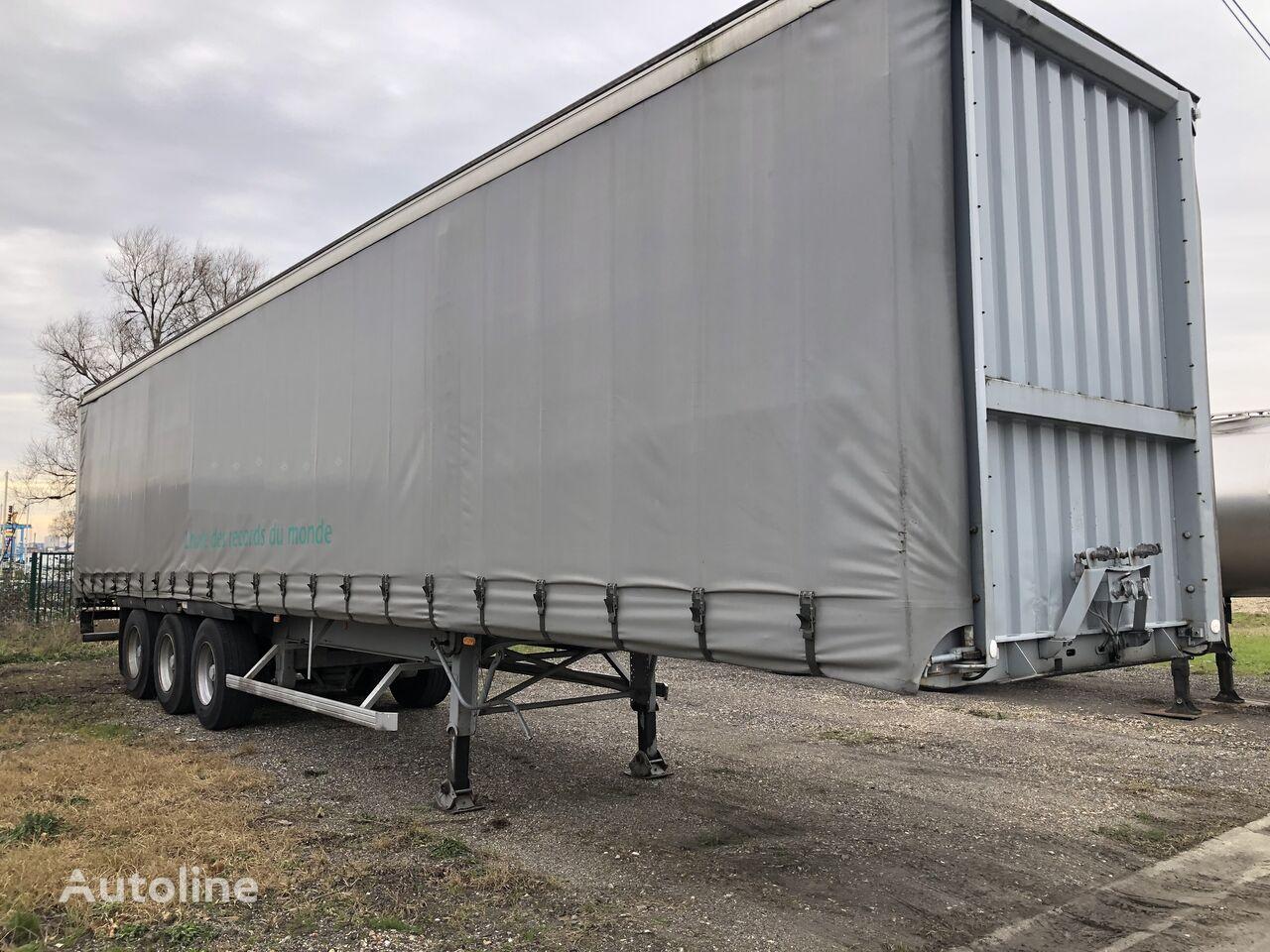 TRAILOR TAUTLINER 34 curtain side semi-trailer