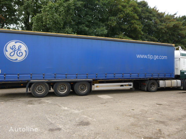 VAN HOOL curtain side semi-trailer