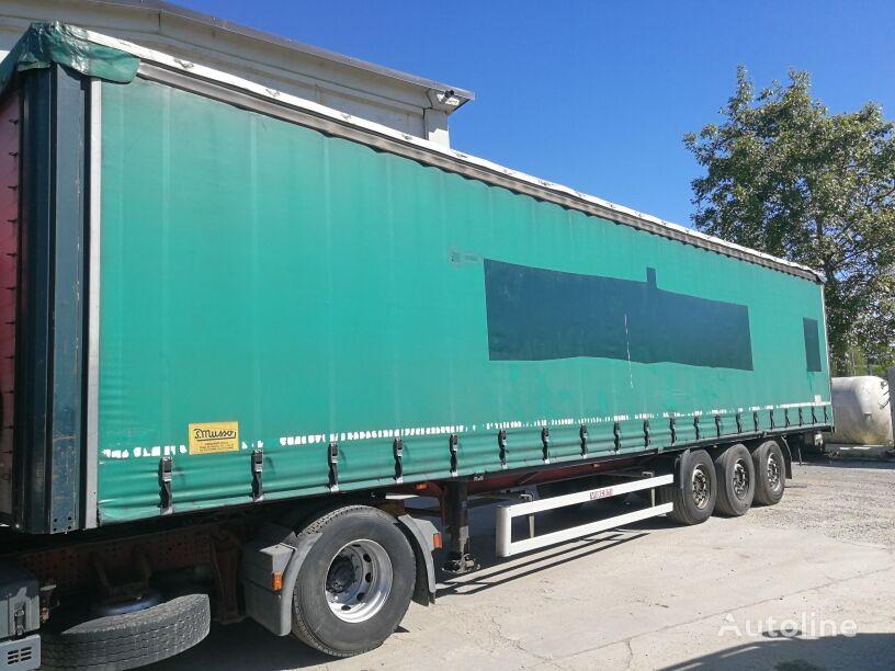 VIBERTI AV 38S20, TELONATO, ABS. FRENI A DISCO, SOLLEVATORE curtain side semi-trailer