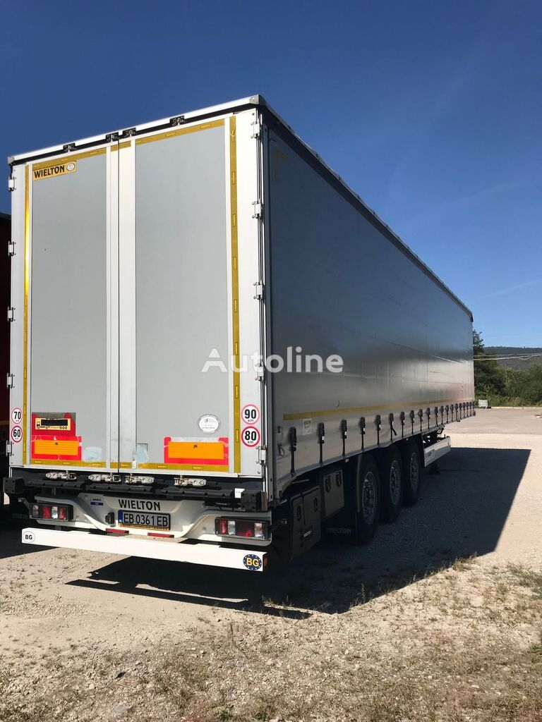 WIELTON curtain side semi-trailer