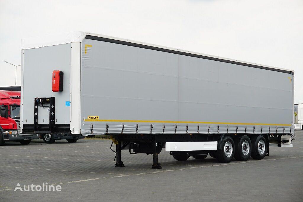 WIELTON / FIRANKA / MULTI LOCK / XL / OŚ PODNOSZONA  curtain side semi-trailer