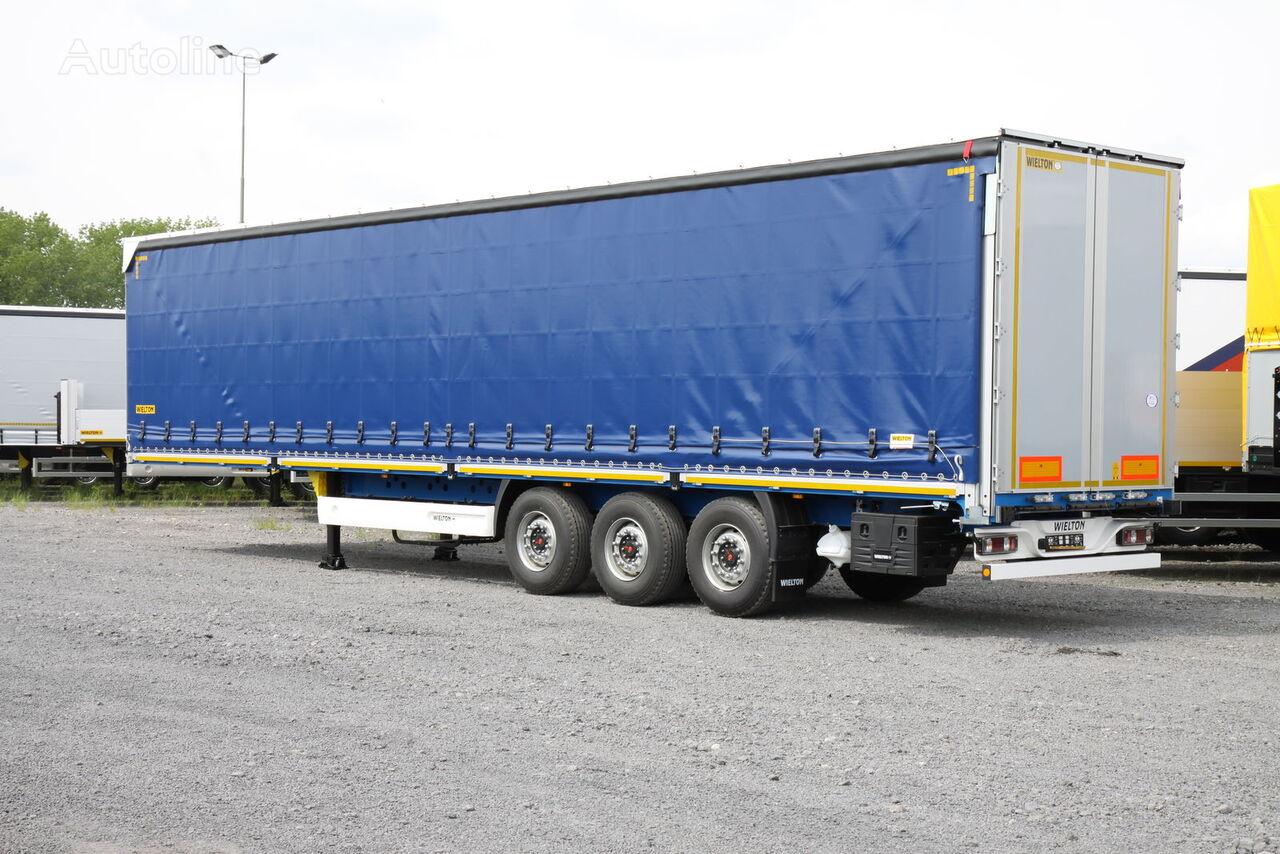 new WIELTON NS 3 KB  curtain side semi-trailer