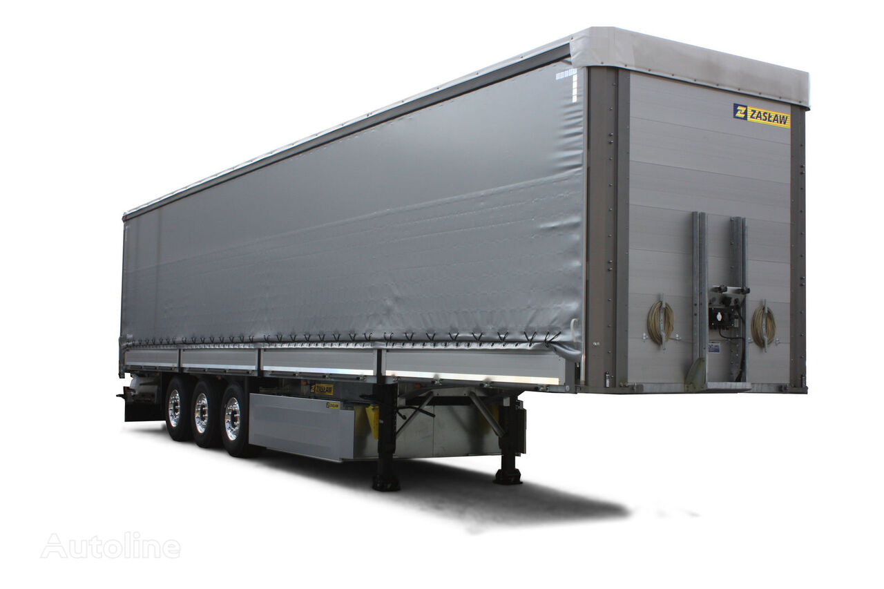 new ZASLAW TRAILIS NS.13.28.BF curtain side semi-trailer