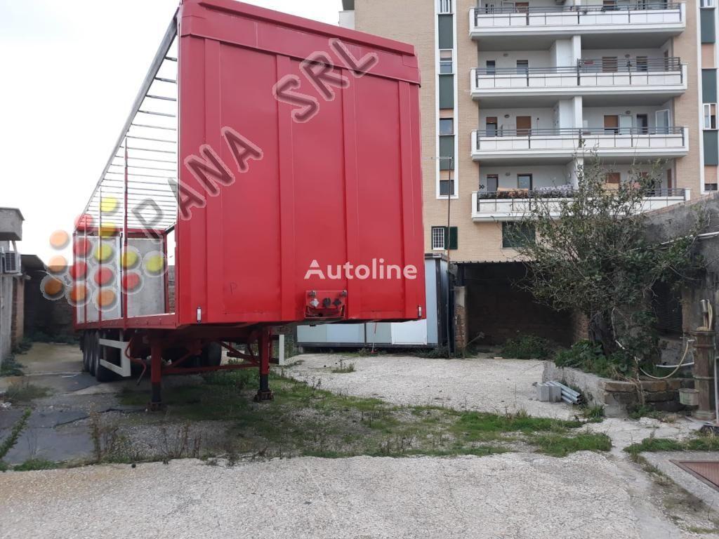 ZORZI 37 S1136 EBA curtain side semi-trailer