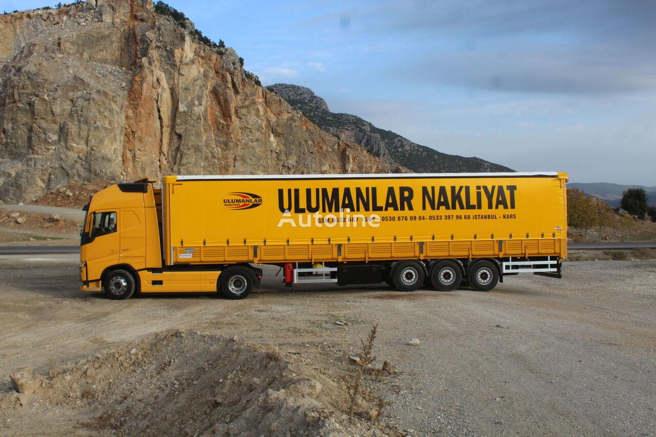 new ÇINLER TENTELİ SEMİTRAİLER curtain side semi-trailer