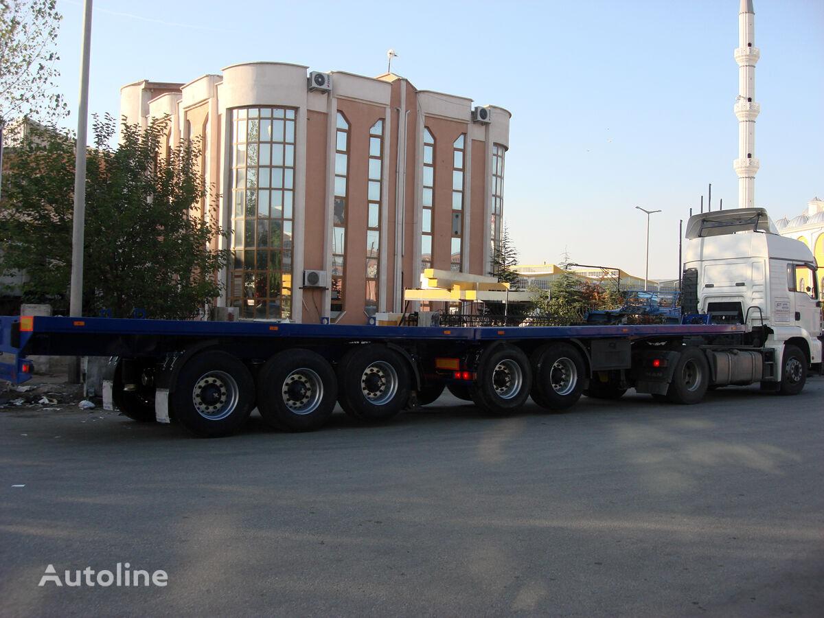 new DONAT Extendable Flatbed Heavy Duty flatbed semi-trailer