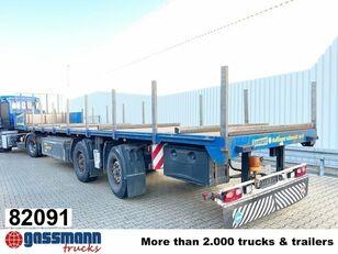 FLIEGL SZS 290 SZS 290, Zwangsgelenkt flatbed semi-trailer