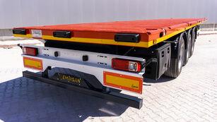 new GEWOLF flatbed semi-trailer