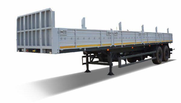 new MAZ 938660-2010 flatbed semi-trailer