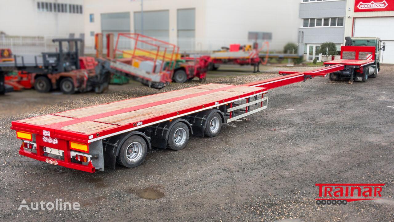 NOOTEBOOM OVB-48-03 V flatbed semi-trailer