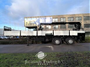 PACTON 2530 DS flatbed semi-trailer