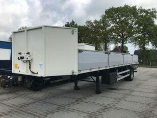 PACTON open city oplegger nieuwstaat! flatbed semi-trailer