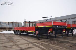 new Политранс 94163-031-5HUPE flatbed semi-trailer