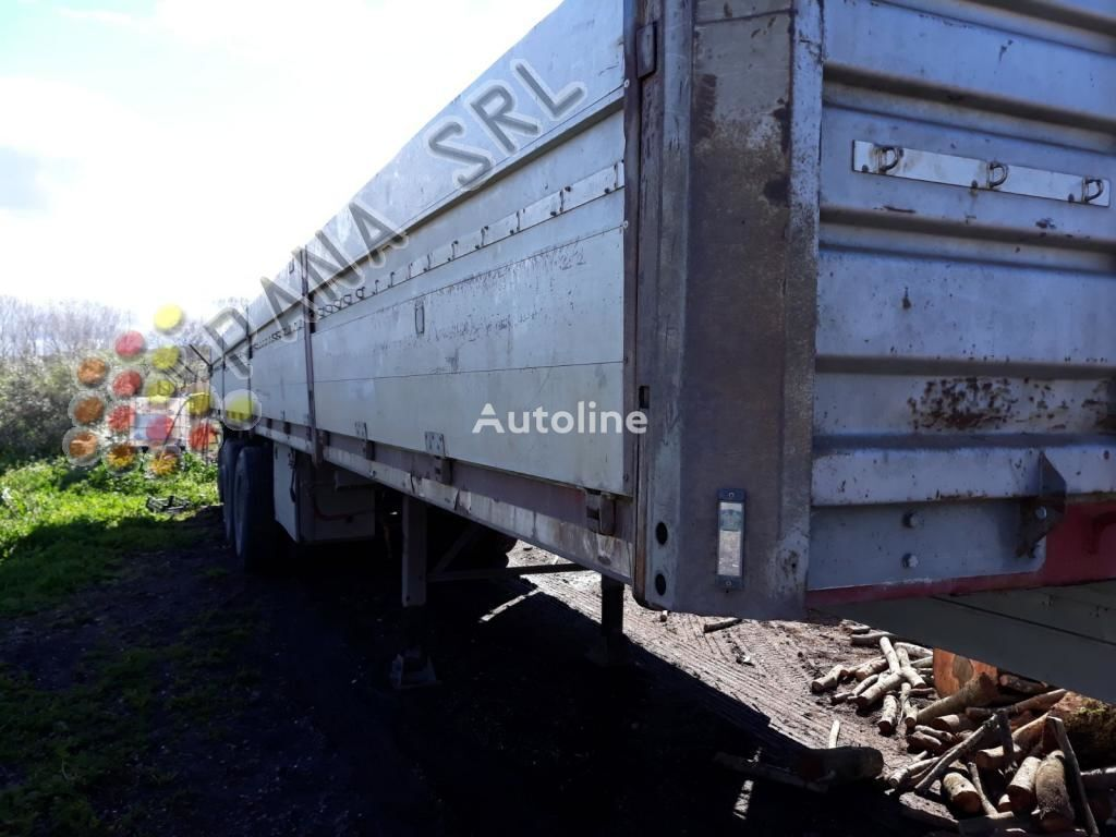 ACERBI AF01TL flatbed semi-trailer