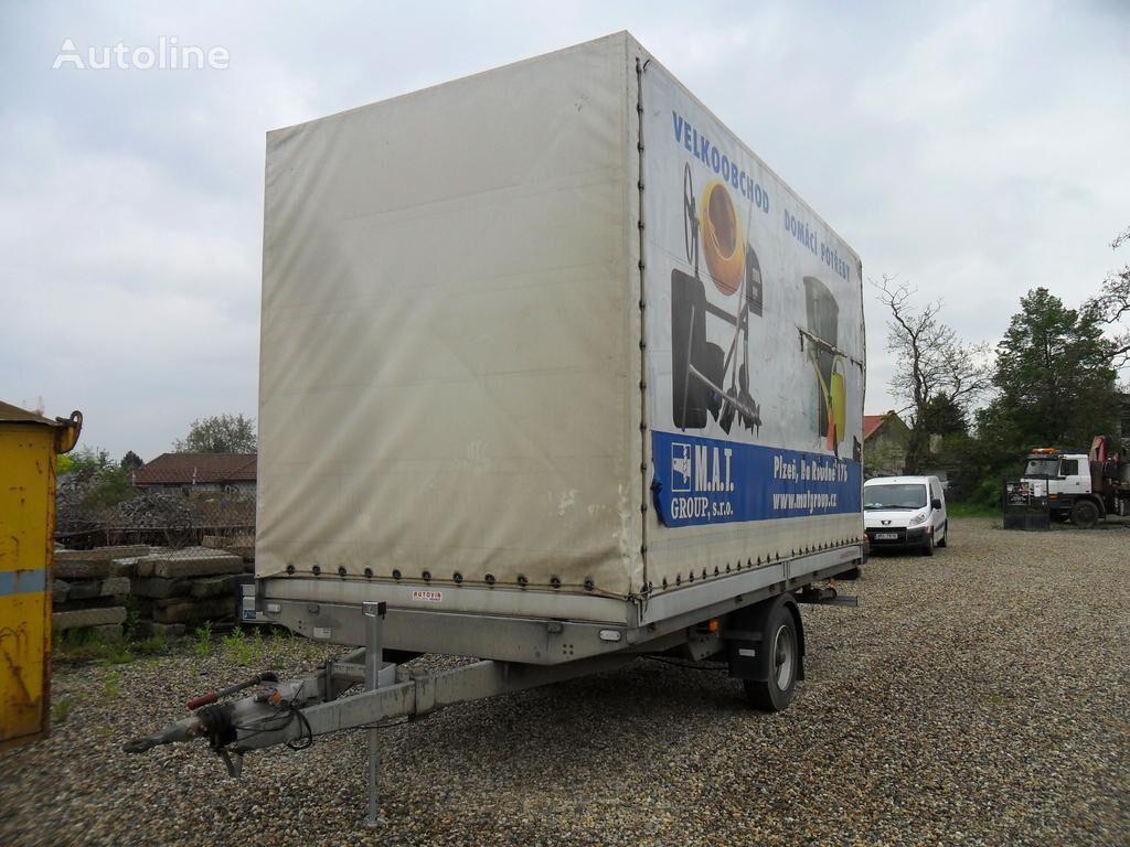 Agados DONA 54 flatbed semi-trailer