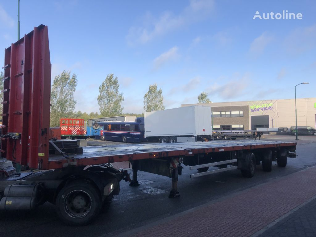 DOLL P3H 7 mtr extension - 3 x power steering flatbed semi-trailer