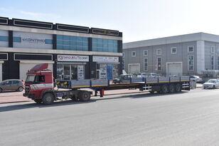 new DONAT Extendable Drop Side Semitrailer flatbed semi-trailer
