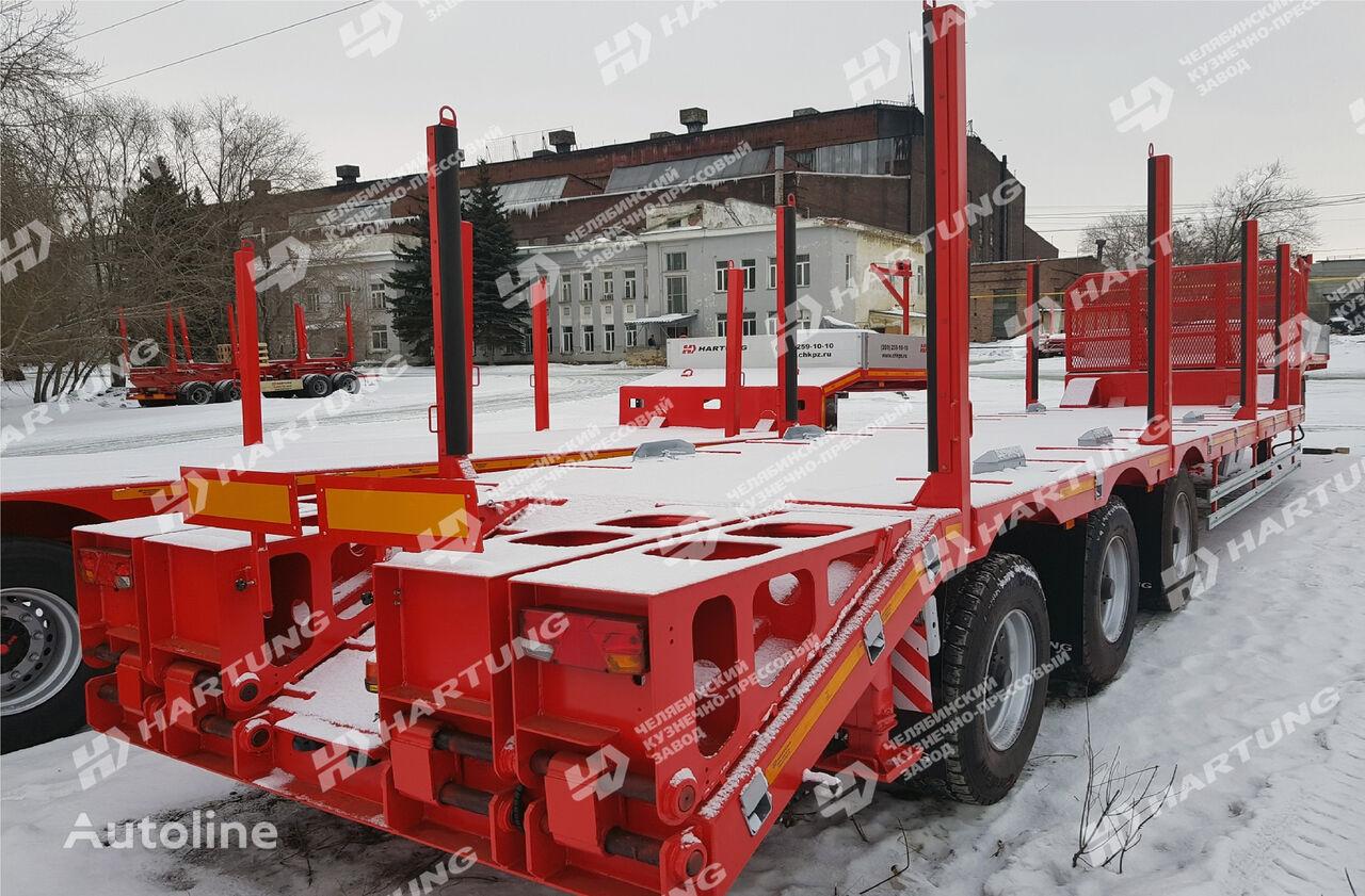 new HARTUNG 94334.327 flatbed semi-trailer