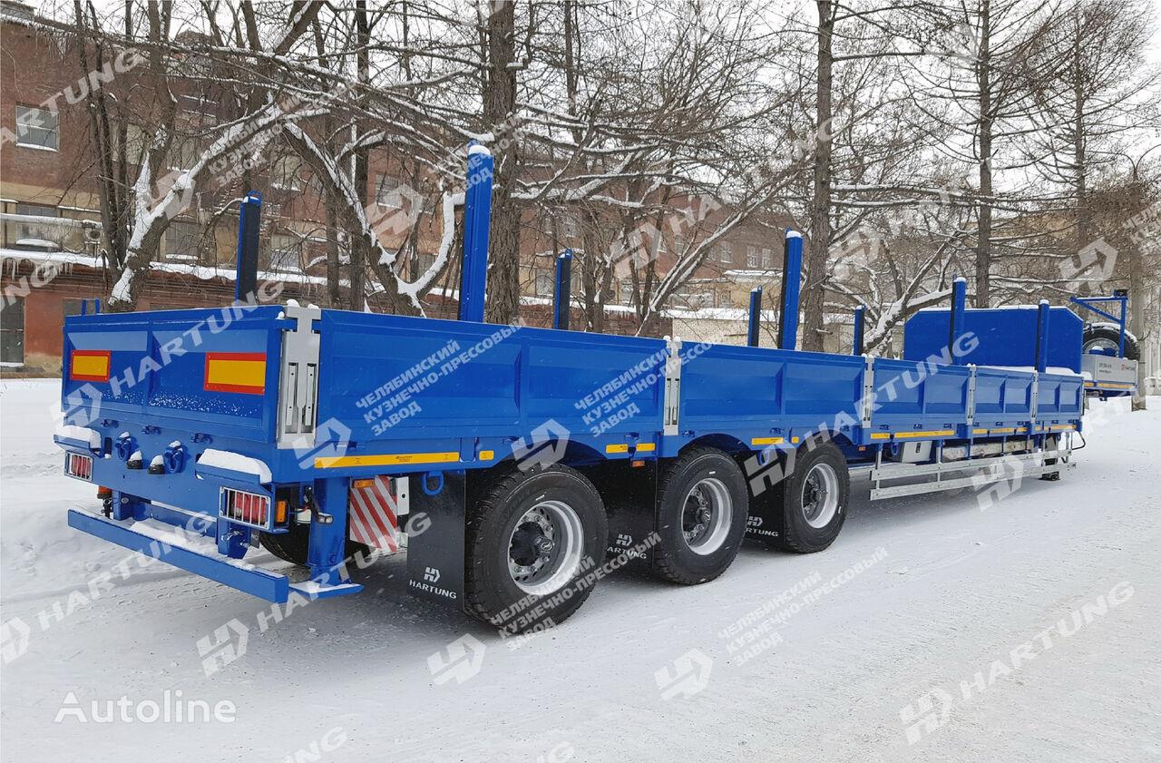 new HARTUNG 94334.797 flatbed semi-trailer