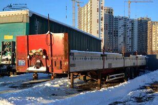 KRONE SDP27 flatbed semi-trailer