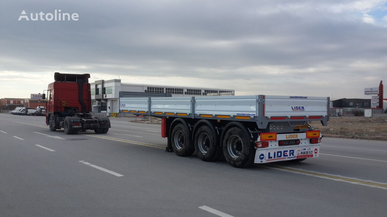 new LIDER 2020 YEAR MODEL  NEW TRAILER FOR SALE (MANUFACTURER COMPANY) flatbed semi-trailer