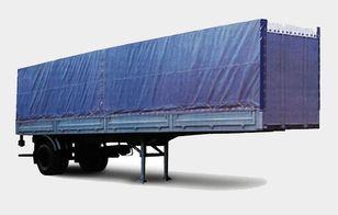 new MAZ 938020 flatbed semi-trailer