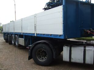 PACTON kraanoplegger flatbed semi-trailer