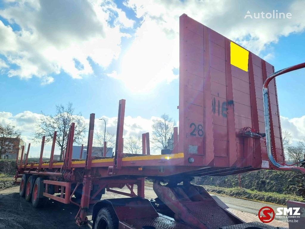 SCHMIDT Smidt Oplegger flatbed semi-trailer