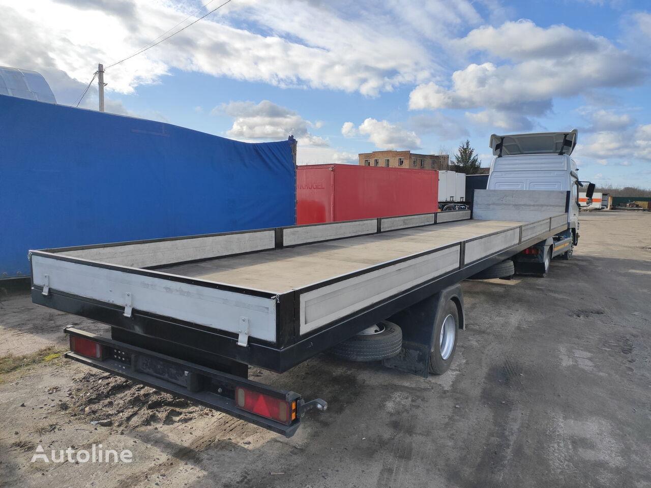SPIER SGL flatbed semi-trailer
