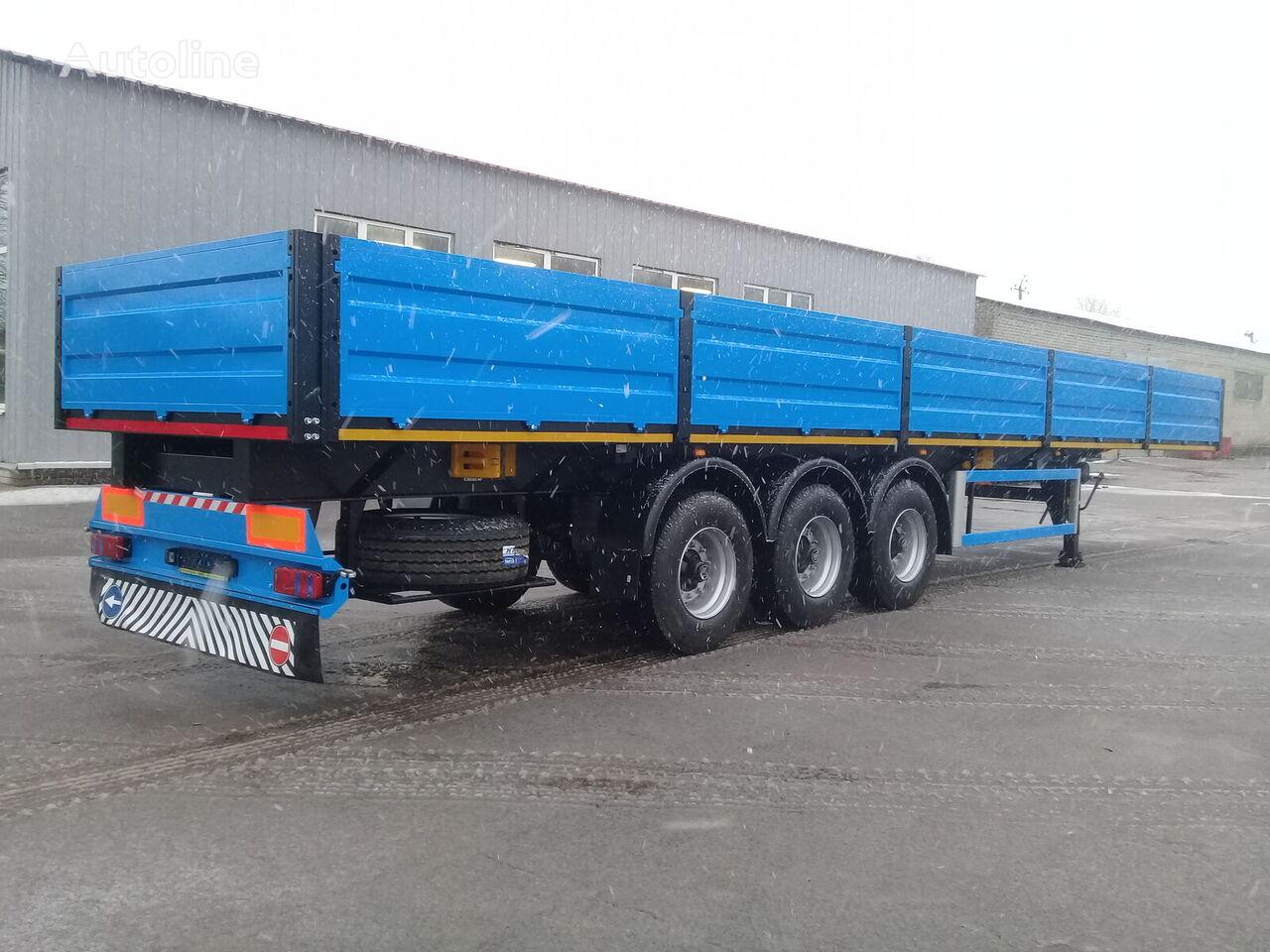 new VARZ NPM-2513 flatbed semi-trailer