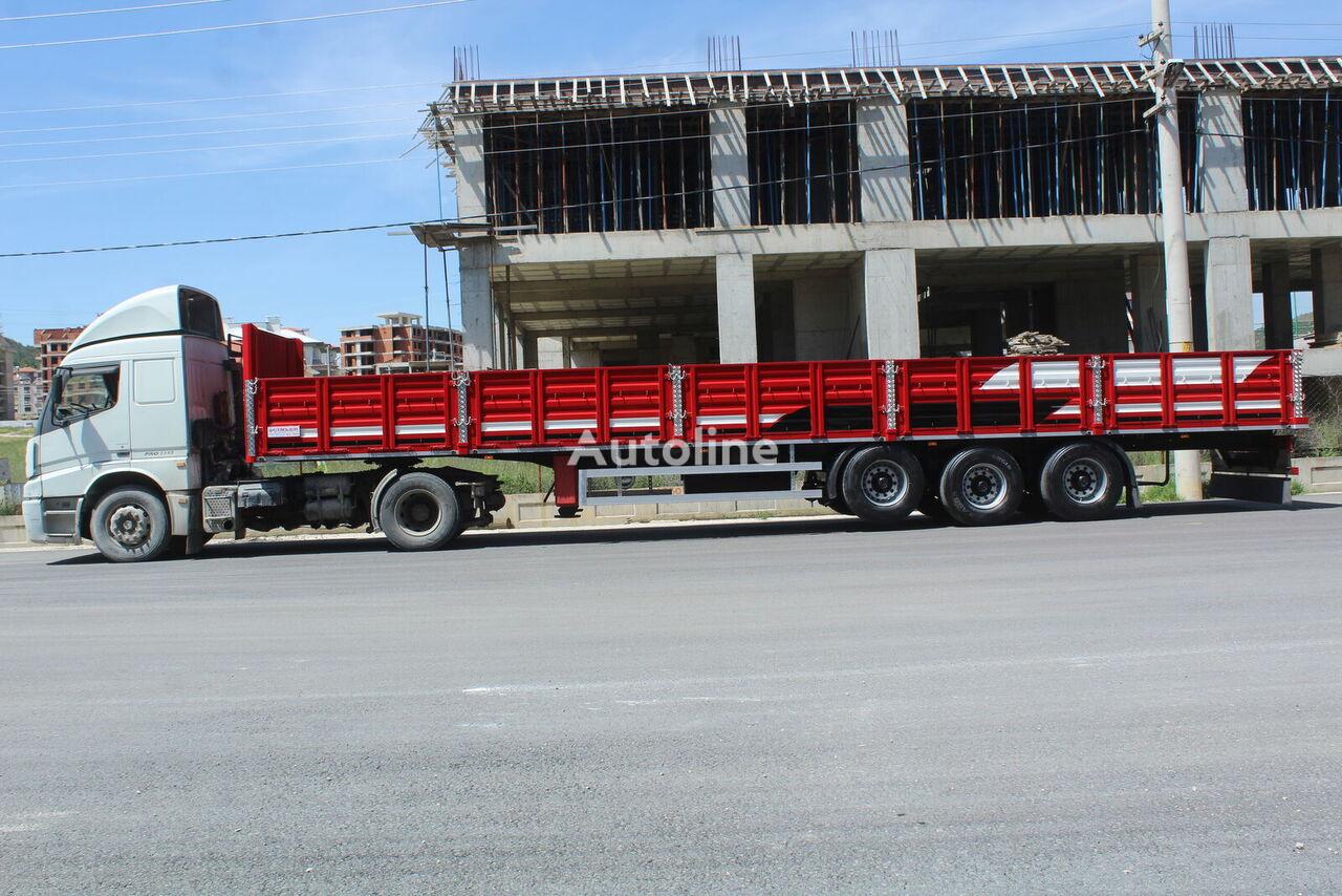 new ÇINLER FLATBED SEMİTRAİLER flatbed semi-trailer