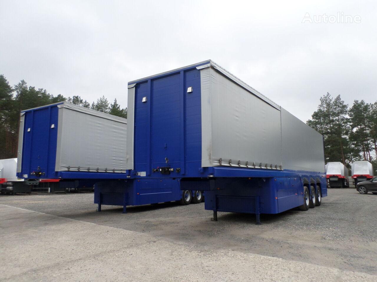 LANGENDORF DO SZKŁA PŁYT BETONOWYCH Inloader GLASS 2009 9,50 m glass transport semi-trailer