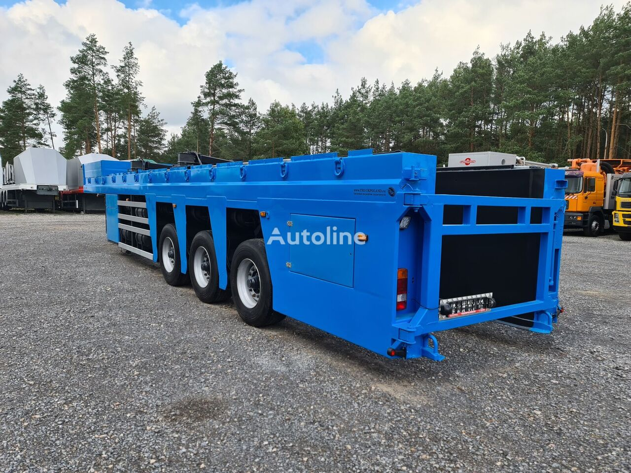 FAYMONVILLE BURG 2006 9,5m FLOATLINER do przewozu płyt betonowych, prefabryk glass transport semi-trailer
