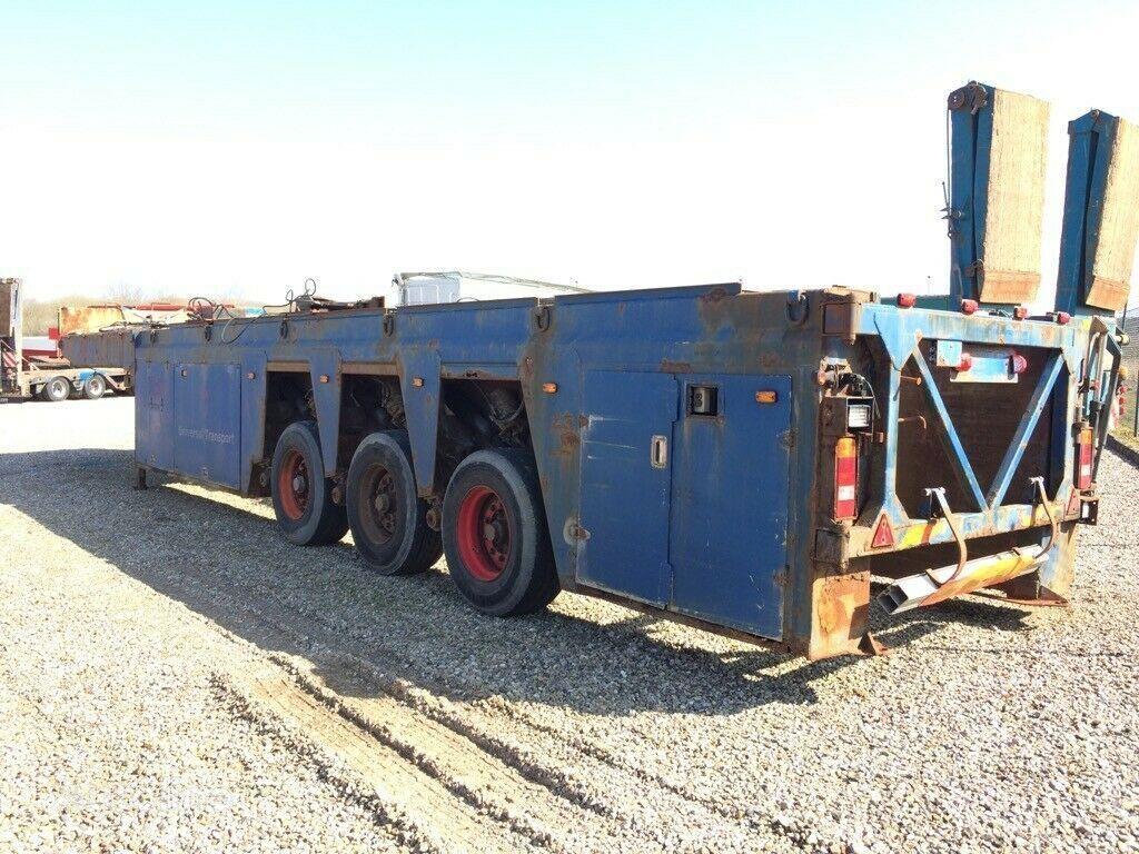 FAYMONVILLE Innenlader  beton glass transport semi-trailer