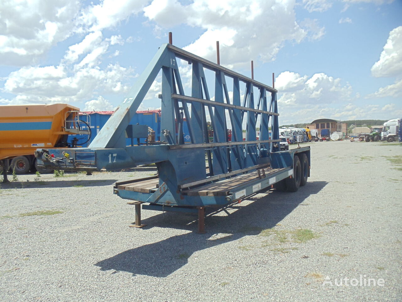 GHEYSEN Panelevoz glass transport semi-trailer