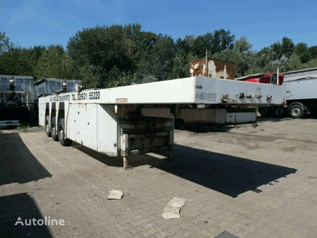 LANGENDORF SBH 27/35 glass transport semi-trailer
