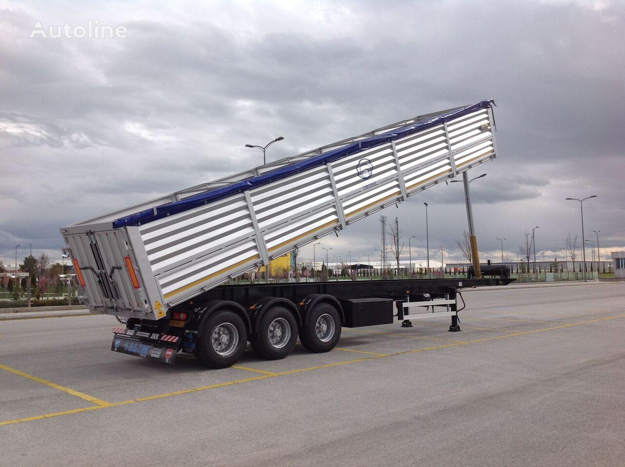 new ALIM 2021 Model Grain Semi Trailer grain semi-trailer