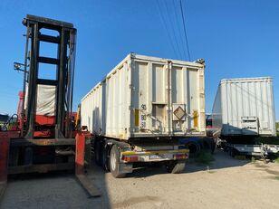 BENALU Bena cereale din aluminiu 5,9 T - 57 m3  FRANCE grain semi-trailer