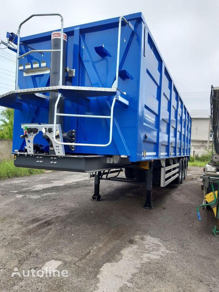 new BODEX KIS 3WS grain semi-trailer