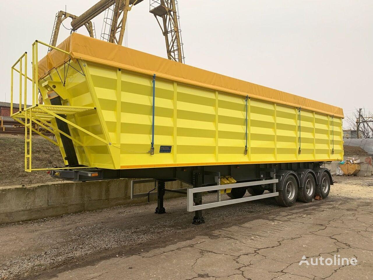 new DLight DL-3360 grain semi-trailer