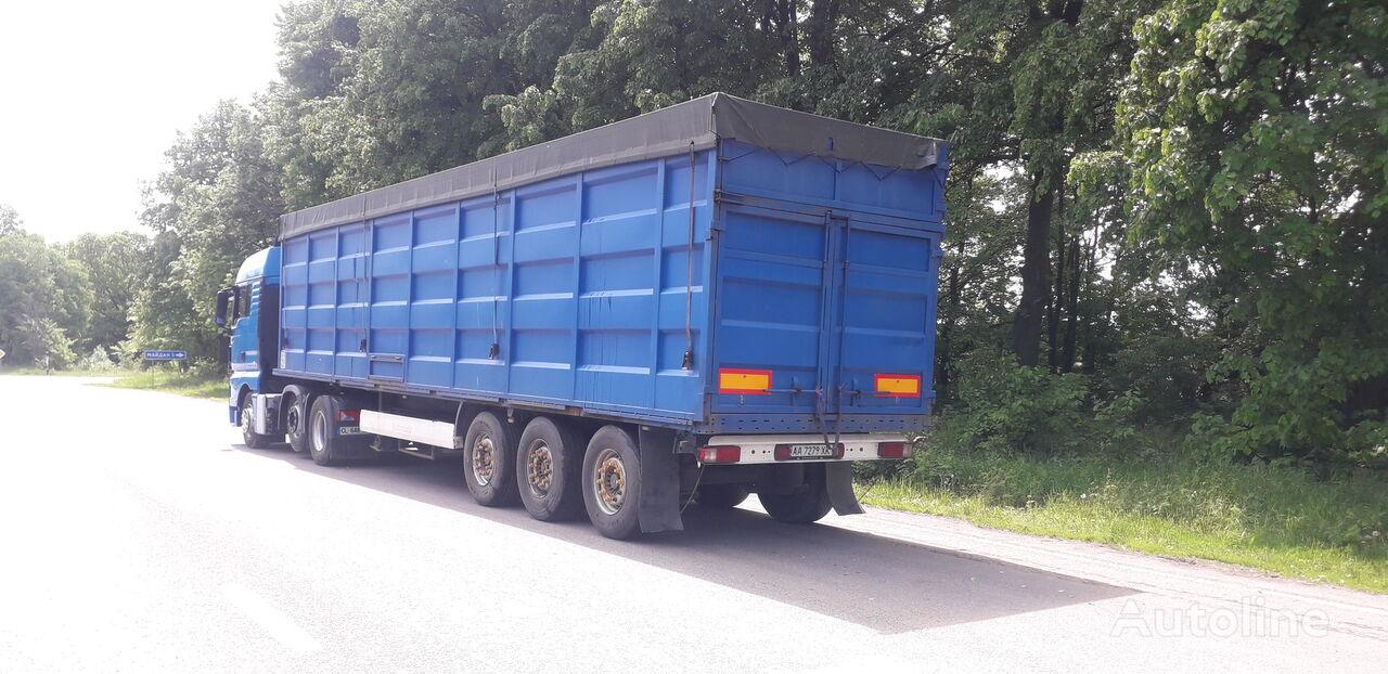 KRONE ADF grain semi-trailer