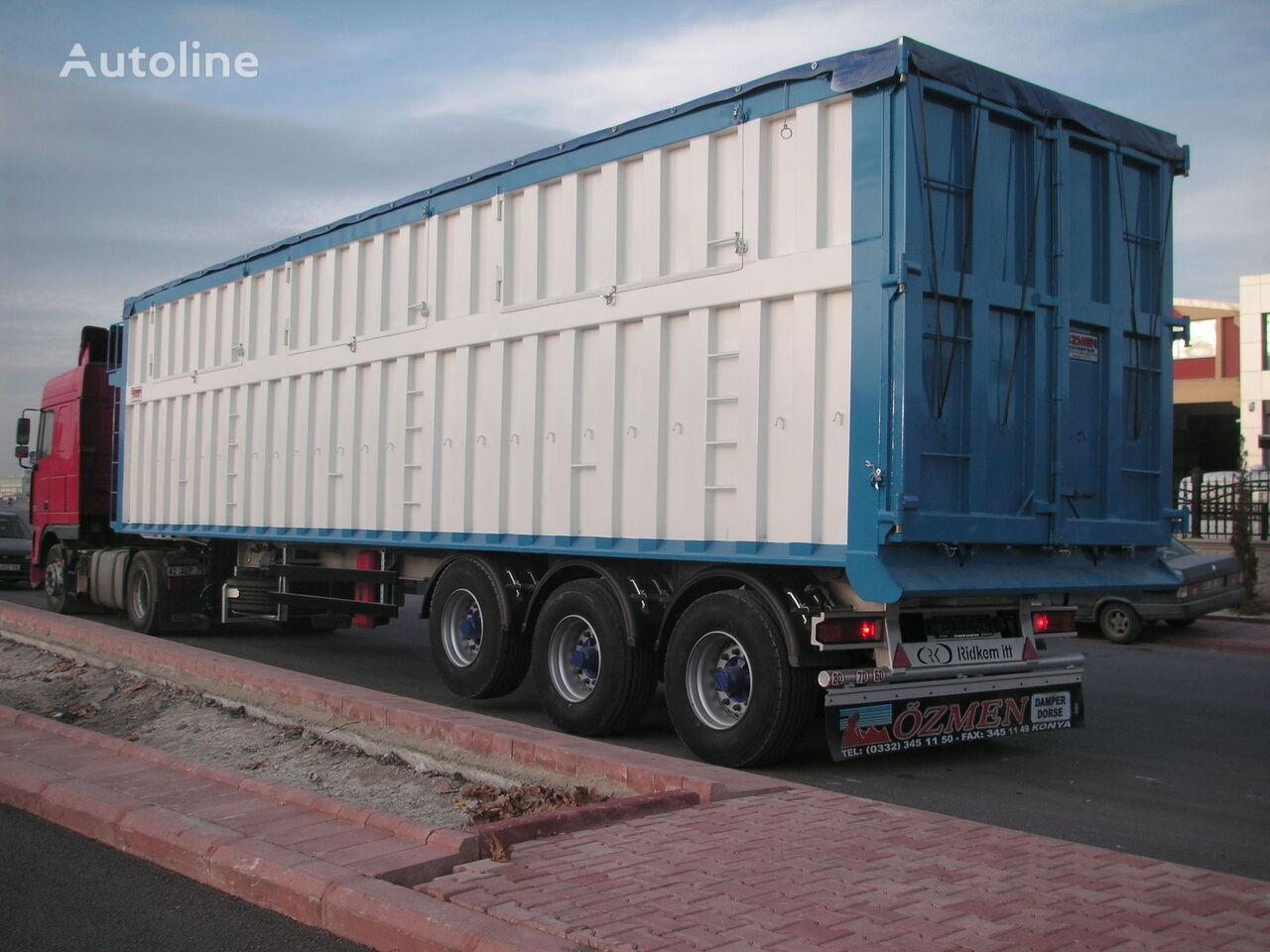 new Ozmen Damper GRAIN CARRIER TIPPER SEMI TRAILER grain semi-trailer
