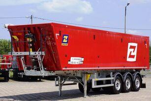 new ZASŁAW 50 m³ - 6.190 kg LighT tipping semi-trailer 2 x GRAIN HOLE READY grain semi-trailer