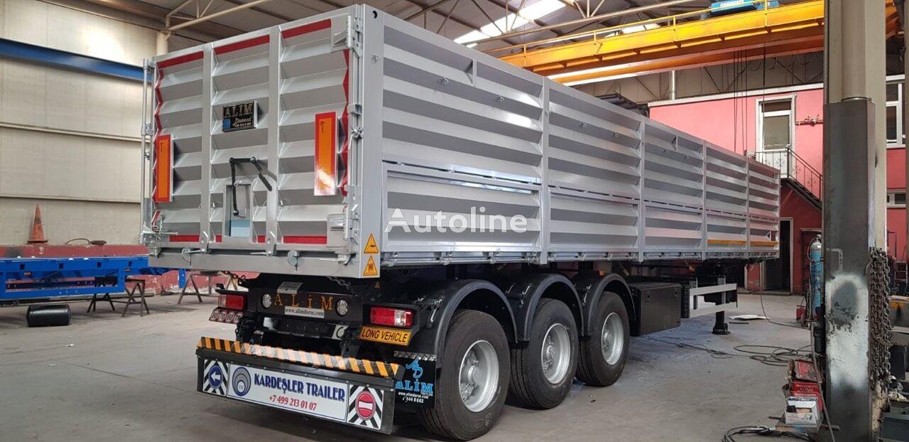 new ALIM Kardesler grain semi-trailer