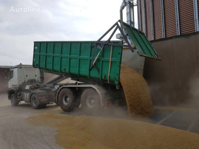 new Agrar grain semi-trailer