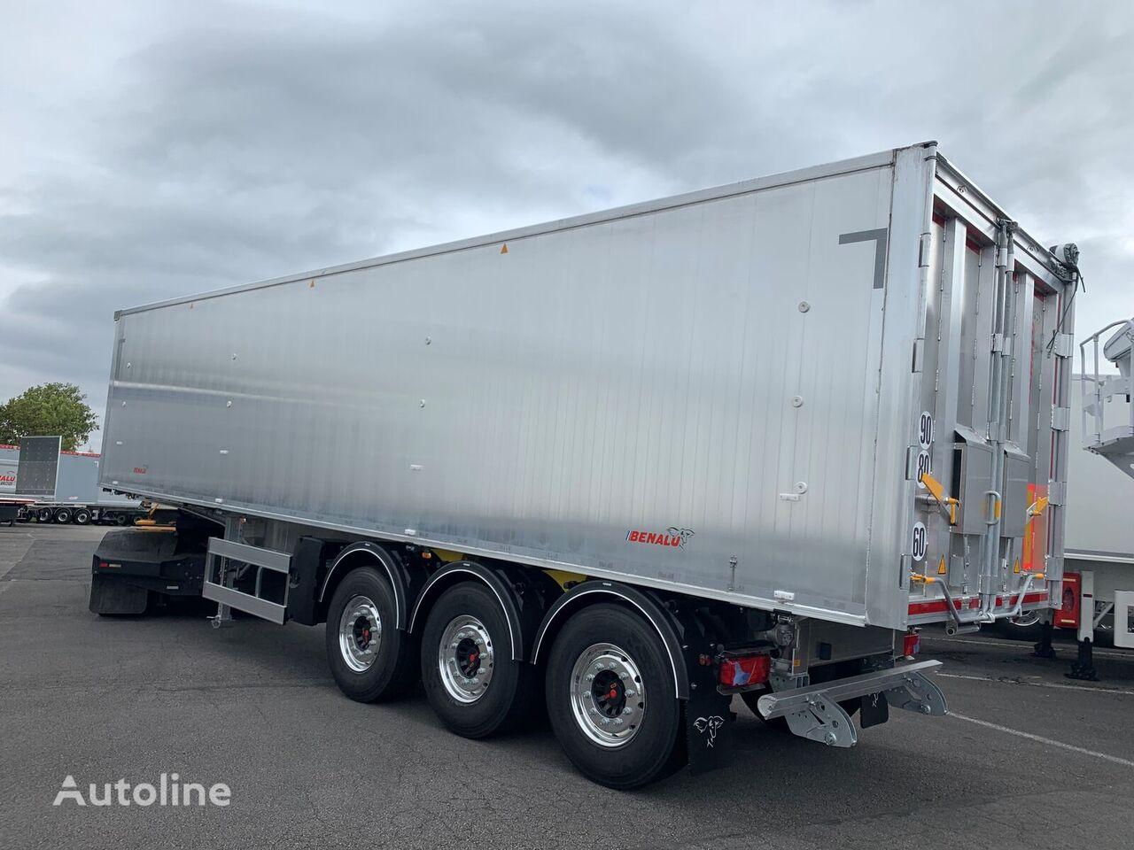 new BENALU OPTILINER garantiya, beznalichnyy raschet s NDS, lizing  grain semi-trailer