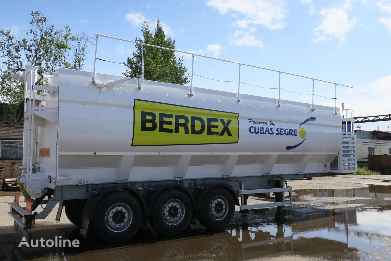 new BERDEX SM 3 grain semi-trailer